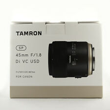 Tamron SP 45mm F/1.8 Di VC USD Lens for Canon  – BRAND NEW, Aus Warranty