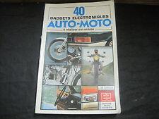 J.M. LEROUX: 40 gadgets électroniques auto-moto à réaliser soi-même