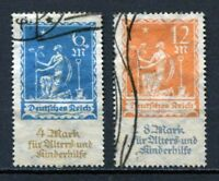 German Reich : Charity set from 1922 - used - High Value