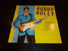 BUDDY HOLLY - The Legendary Buddy Holly - 1987 UK Hallmark label 14-track vinyl