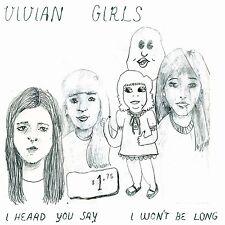 "Vivian Girls I Heard You Say 7"" Vinyl Record & MP3 non lp song out of print NEW+"