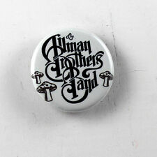 """ALLMAN BROTHERS BAND 1.25"""" button pin pinback badge Buy 2 Get 1 Free"""