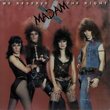 MADAM X We Reserve The Right 1984  UK  VINYL LP EXCELLENT CONDITION   A