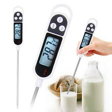 Kitchen  Digital Food Thermometer BBQ Cooking Meat Hot Water Measure Probe Gift