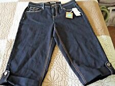 Women's size 8, Cato brand Cropped Jeans Capris NWT