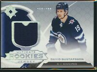 2019-20 Upper Deck Ultimate Collection Rookies Jersey /399 #163 David Gustafsson