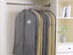 Clear Suit & Dress Plastic Bag Garment Protector Storage Bag Dust Moisture Dress