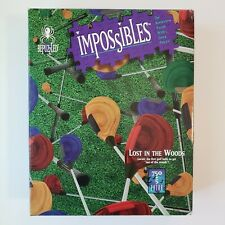 """Bepuzzled Impossibles """"Lost in the Woods"""" 750 Piece borderless puzzle Complete"""