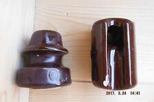 2 Vintage Insulators