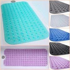 "Non Slip Safety Bathtub Mat Vinyl Bath Rug Bathroom Floor Carpet 39"" x 16"""