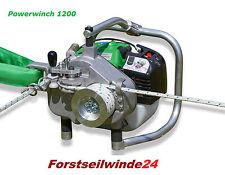 Forstseilwinde Spillwinde EDER POWERWINCH 1200 - Der Allrounder Zugkraft 1200 kg