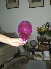 NEW Valletta Glass LED Purple balloon