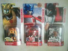 3x Transformers OPTIMUS PRIME STARSCREAM BUMBLEBEE G1(legion class)Hasbro legend