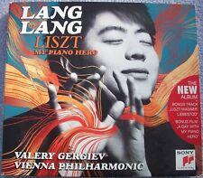 LANG LANG LISZT MY PIANO HERO Valery Gergiev CD + DVD Classical Keyboard Sony