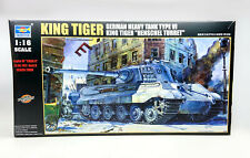 Trumpeter No. 00906 King Tiger heavy Tank 1/16 scale Limited Edition model kit
