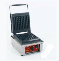 Elektrisches Waffeleisen Waffelautomat Liege-Form 305x440x230mm Gastlando
