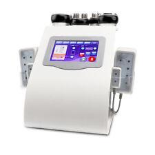 6-1 vacuum lipo ultrasound cavitation machin 40K tripolar RF laser slimming 220V