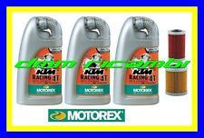 Kit Tagliando POLARIS OUTLAW 450 525 07>11 + Olio MOTOREX racing 20W60 ATV QUAD
