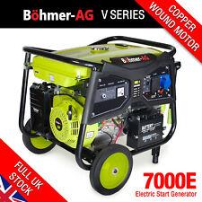 More details for electric petrol generator 9.5kw /11.5kva key start portable power - 7000k bohmer