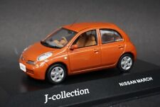 1:43 KYOSHO J Collection JC18033P Nissan March Paprika Orange model car