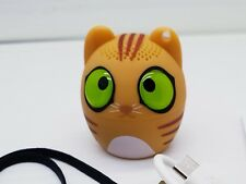 Cookie The Cat Bluetooth V4.2 Animal Mini Speaker - Portable USB Rechargable NEW