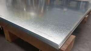 0.75mm - 1.95mm Galvanized Sheet Metal / Steel - 1220mm x 2440mm / 4ft x 8ft