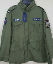 POLO RALPH LAUREN M65 MILITARY ARMY FIELD JACKET GREEN $298 RARE NEW (SIZE XL)