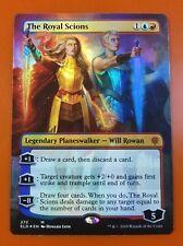 1x The Royal Scions   FOIL Borderless   Throne of Eldraine   MTG Magic Cards