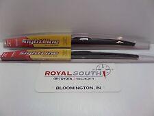Toyota Tundra 00-06 Sequoia 01-07 Wiper Blade Kit Genuine OEM OE