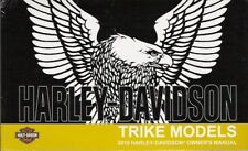 2019 Harley Trike Models Owner's Owners Owner Manual Book Guide 94000539