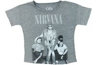 Nirvana picture Boxy T-shirt by Chaser 90's Grunge Rock Band Tee Kurt Cobain