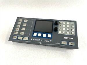 Harris Leitch MGI-RCP-DM LogoMotion II Remote Control Panel LCD Display Keypad 2