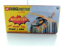 Corgi BATCOPTER  BATMAN & ROBIN empty box