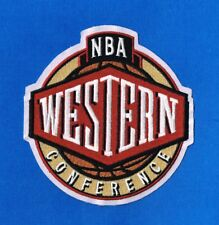 NBA WESTERN CONFERENCE PRIMARY EMBROIDERED LOGO