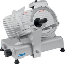 Aufschnittmaschine Wurstschneidemaschine Messerschärfer 220 mm Schrägschneider