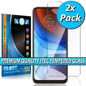 For Motorola Moto E7i, E7i Power Gorilla Tempered Glass Screen Protector Cover