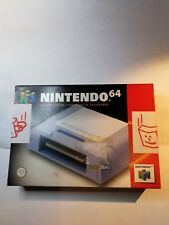 Ufficiale Nintendo N64 Joystick Scheda di Memoria con Scatola e istruzioni