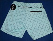 "Bnwt Da Donna's Oakley STRETCH SHORTS HOT PANTS W27 ""UK8 Blu Nuovo"