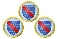 Bourbonnais (France) Marqueurs de Balles de Golf