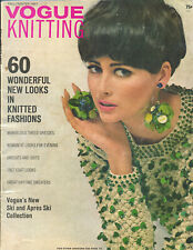 Vintage Vogue Knitting Magazine Fall Winter 1967 60 Knitted Fashions Patterns