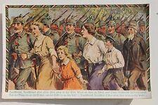 29037 Patriotika AK Deutschland Deutschland über alles Deutschlandlied 1915 1.WK
