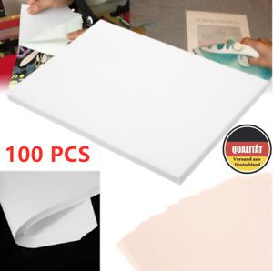 100 Blatt A4 T Shirt Transferpapier heat transfer paper for Stoffe helle & dunk