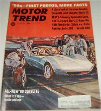 August 1967 Motor Trend  Magazine