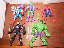 Marvel Super Hero Mashers personaggio toy playset intercambiabili HULK RAGNO AMERICA