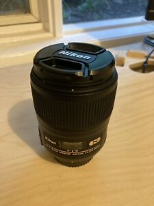 Nikon AF-S Micro NIKKOR 60mm f2.8 Lens