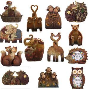NEW CUTE RESIN ANIMALS ORNAMENT VARIOUS OWL MONKEY ELEPHANT HEDGEHOG GIRAFFE