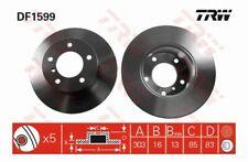 TRW Bremsscheibe Scheibenbremse Bremse für MERCEDES PUCH 79->