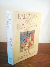 1st Edition BALTASAR BLIMUNDA Jose Saramago NOBEL PRIZE First Printing Fiction
