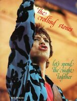 ROLLING STONES 1983 LET'S SPEND THE NIGHT TOGETHER CONCERT MOVIE PROGRAM-EX~NMT