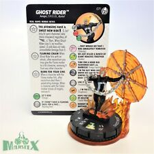 Heroclix Captain America and The Avengers set Ghost Rider #071 Chase fig w/card!